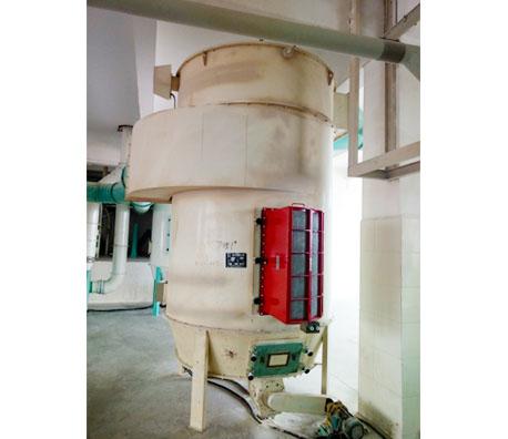 面粉厂除尘器无火焰泄爆装置
